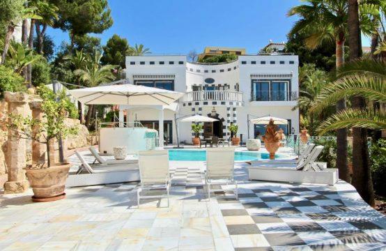 Exklusive Villa mit Wunderschönen Panorama Meerblick in Bendinat | Ref.: 11893