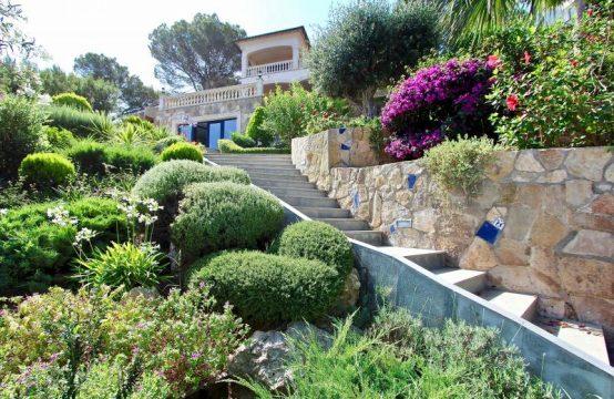 Spektakuläre Villa mit Fantastischem Panoramablick auf das Meer in Santa Ponsa | Ref.: 11926
