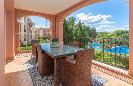 Elegante Wohnung in Begehrter Golfresidenz in Strand- und Hafennähe in Nova Santa Ponsa | Ref.: 11965