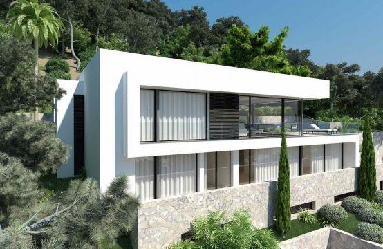 Spektakuläres modernes Villenprojekt in Santa Ponsa | Ref.: 11794