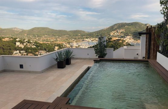 EXQUISITES PENTHOUSE IN SEHR PRIVILEGIERTER LAGE IN PORT ANDRATX | Ref.: 12109