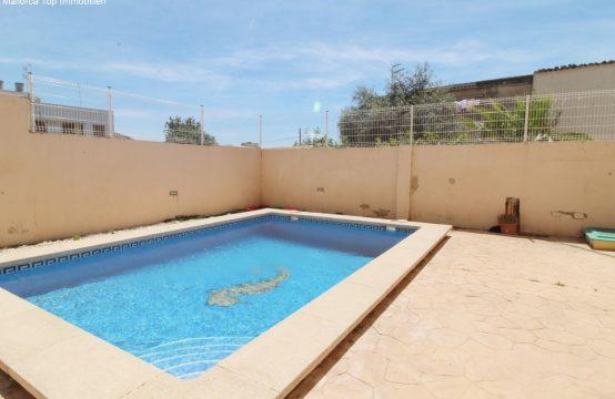Llucmajor/Stadt. Erdgeschosswohnung mit privatem Pool | Ref.: 12309