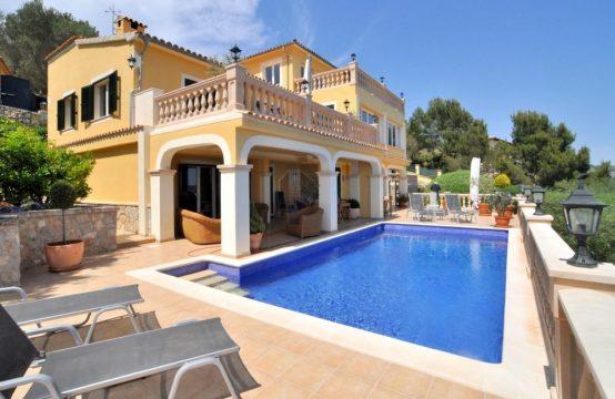 Luxusvilla mit Panoramameerblick in Son Font, Calvia, Mallorca | Ref.: 10039