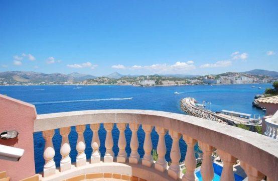 Villa mit Meerblick und Meerzugang in Santa Ponsa | Ref.: 10319