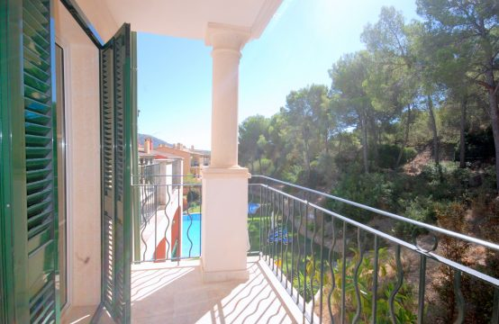 Luxuriöses Apartment in mediterraner Wohnanlage in Santa Ponsa, Mallorca  | Ref.: R10623