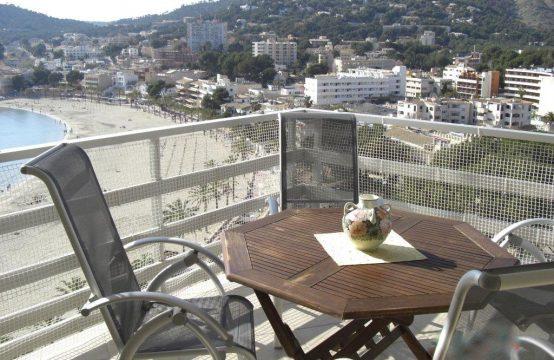 Sonnige Wohnung in 1. Meereslinie in Paguera, Mallorca | Ref.: 10704