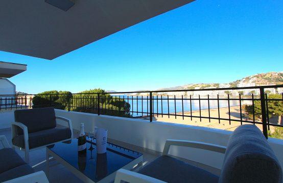 Renovierte Wohnung mit Herrlichem Meerblick direkt am Strand von Santa Ponsa | Ref.: 11594