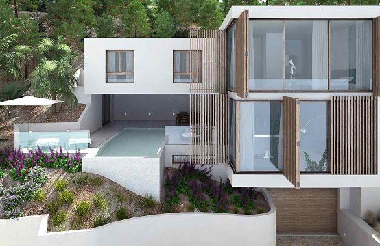 Moderne Villa mit fantastischem Meerblick in Santa Ponsa | Ref.: 11626