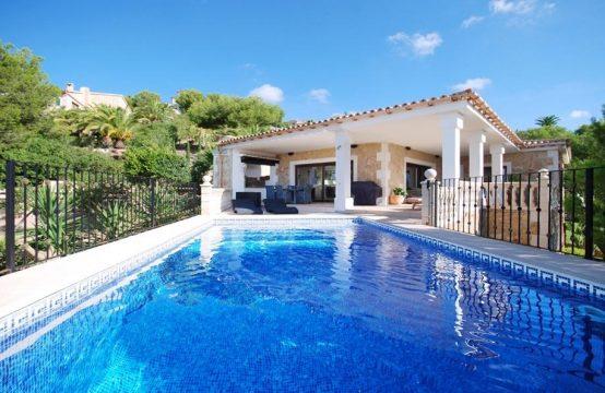 Luxusvilla mit traumhaftem Meerblick in Costa de la Calma, Mallorca | Ref.: R10293