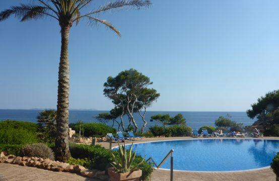 Auf der Terrasse Frühstücken mit Meerblick auf  die Insel Cabrera. | Ref.: 12159