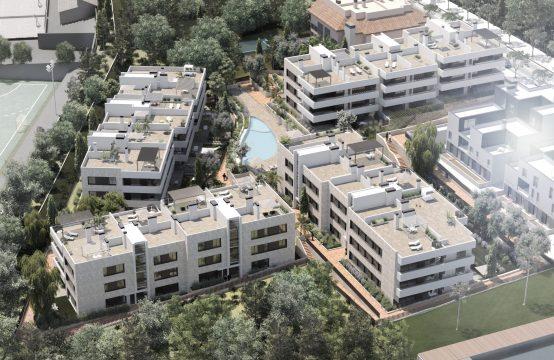 HAUSANLAGE MIT DUPLEX/ERDGESCHOSS-WOHNUNGEN AB 372.000 € BIS ZU 708.000€ IN PALMA | Ref.: 12505