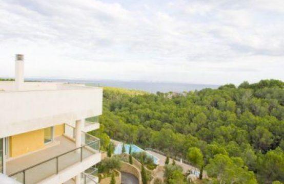 Luxus Duplexpenthouse mit einzigartigem Meerblick in Sol de Mallorca   Ref.: 8281