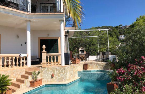 Langzeitmiete-Villa mit Pool und Meerblick in Costa d'en Blanes | Ref.: R12653