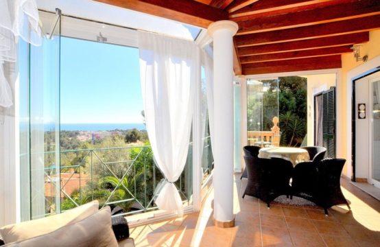 Meerblick Villa mit Gästehaus in Costa d'en Blanes, Mallorca   Ref.: 10549
