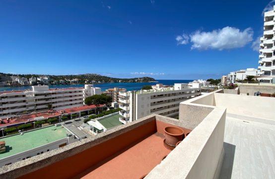 Einzigartige modernisierte Wohnung mit fantastischem Meerblick Santa Ponsa  | Ref.: 12610