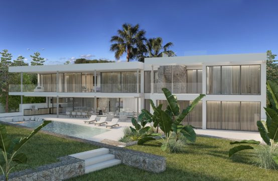 Neubauvilla mit Teilmeerblick in Santa Ponsa | Ref.: 12906
