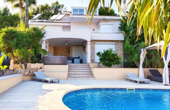 Traumhafte Villa mit Meerblick in Cas Catala  | Ref.: 12911